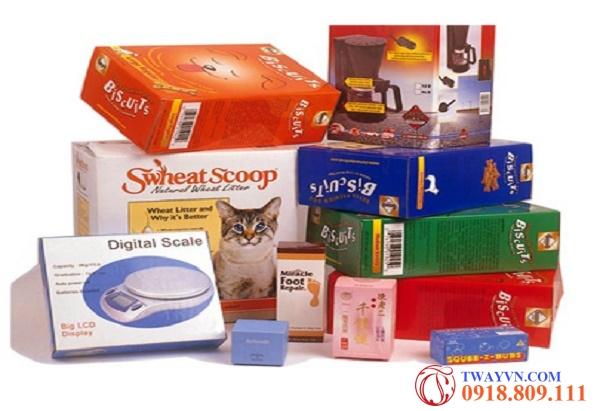 Thiết kế - In ấn Hộp Duplex bồi sóng carton - Thùng Carton